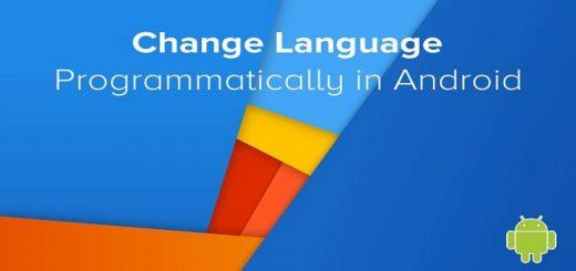 تغییر زبان اندروید